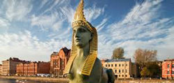 Египетский мост в Санкт-Петербурге