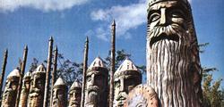 Музей скульптуры и флористики «Поляна сказок» в Ялте