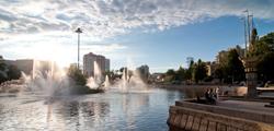 Комсомольский пруд в Липецке