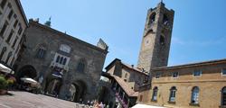 Городская башня в Бергамо