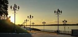 Набережная Рыбинска