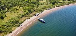 Пляжи острова Русский